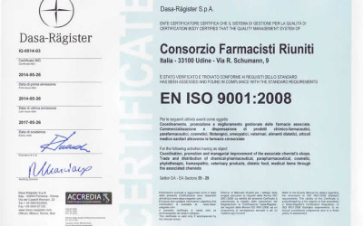 Prima certificazione di Gruppo