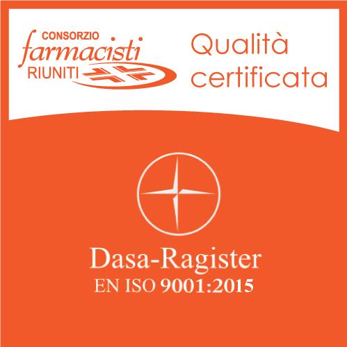 Qualità certificata Consorzio Farmacisti Riuniti