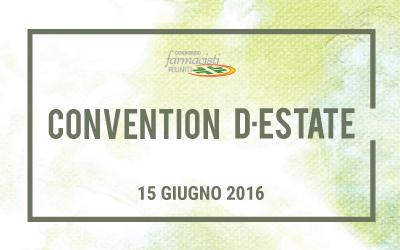 Convention d'estate 2016