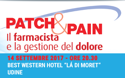 Serata formativa: Il farmacista e la gestione del dolore