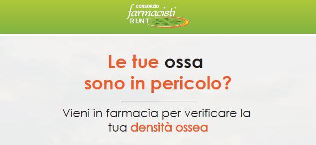 Corso Screening Densitometria Ossea